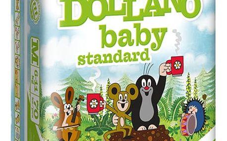 DOLLANO Baby Standart, velikost M, (6-11 kg ) 70ks - jednorázové pleny