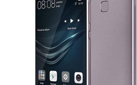 Huawei P9, Dual Sim, Titanium Grey - SP-P9FDSTOM + Zdarma YENKEE YAC 2048BK USB Autonabíječka 4.8A, černá (v ceně 299,-) + Zdarma Kabel Celly USB typu C (v ceně 279,-) + Zdarma držák CELLY FLEX9, univerzální (v ceně 379,-)