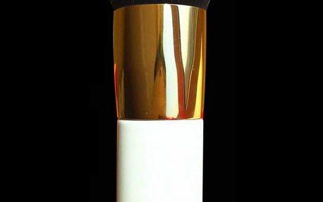 Kosmetický štětec na makeup - bílá barva