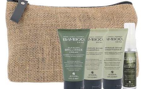 Alterna Bamboo Shine Luminous Shine šampon dárková sada W - šampon 40 ml + kondicionér 40 ml + balzám na vlasy 40 ml + vlasová mlha 25 ml