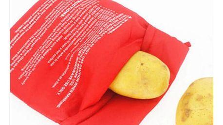 Taška pro rychlé vaření brambor v mikrovlnce