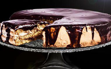 Čokoládový dort ArménkA z oříškového těsta