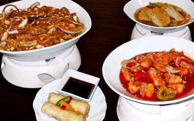 Znamenité šanghajské menu pro 2 osoby