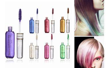 Barevná řasenka na vlasy - 7 barev