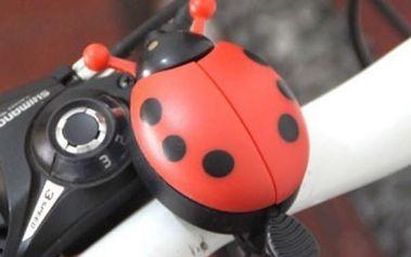 Zvonek na kolo v podobě berušky - 4 barvy