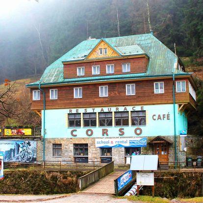 Hotel Corso v Peci pod Sněžkou a snídaní v ceně