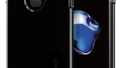 Pouzdro Spigen Hybrid Armor jet - iPhone 7+ Temně černá
