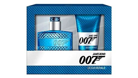 James Bond 007 Ocean Royale EDT dárková sada M - EDT 50 ml + sprchový gel 150 ml