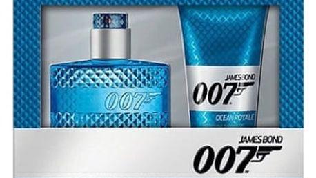 James Bond 007 Ocean Royale dárková kazeta pro muže toaletní voda 50 ml + sprchový gel 150 ml