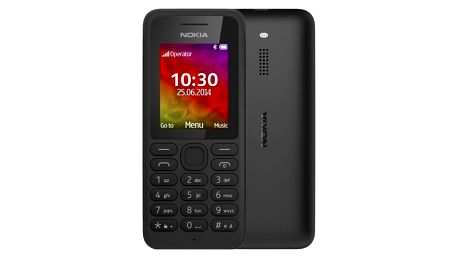 Nokia 130 Single SIM Black