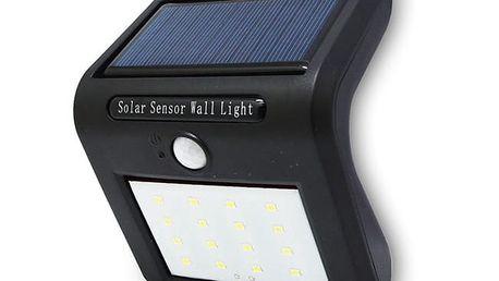 Solární LED světlo s pohybovým senzorem - 16 LED zářivek