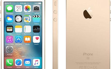 Apple iPhone SE 16GB, zlatá - MLXM2CS/A