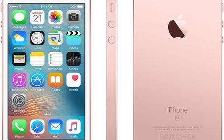 Apple iPhone SE 16GB, růžová/zlatá - MLXN2CS/A