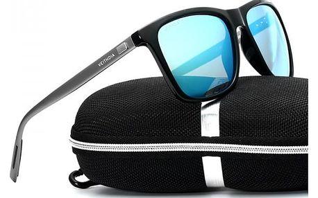 Elegantní pánské sluneční brýle s pouzdrem - polarizované
