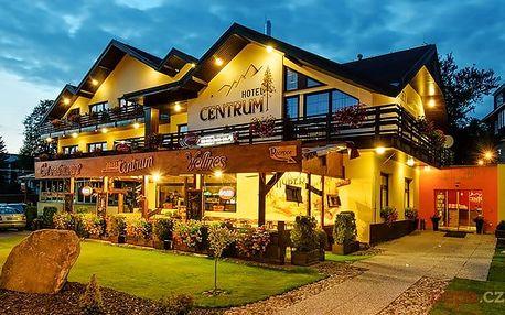 3–6denní wellness pobyt pro 2 s polopenzí v luxusním hotelu Centrum Harrachov v Krkonoších