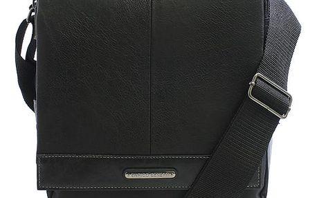 Černá pánská taška přes rameno Enrico Benetti 54318 černá