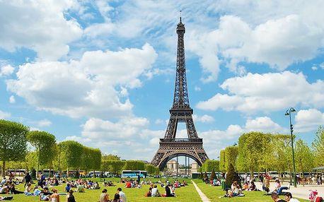 Jarní poznávací zájezd do kouzelné Paříže pro JEDNOHO