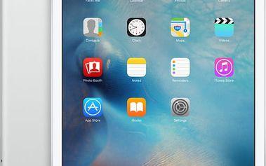 APPLE iPad Mini 4, 32GB, Wi-Fi, 3G, stříbrná - MNWF2FD/A