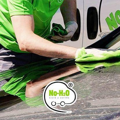 Mytí interiéru i exteriéru auta v automyčce No-H2O v Praze