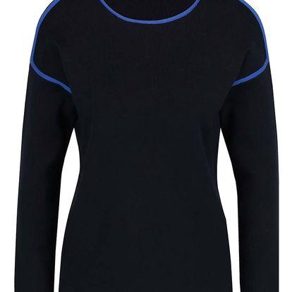 Tmavě modrý svetr s detaily Dorothy Perkins