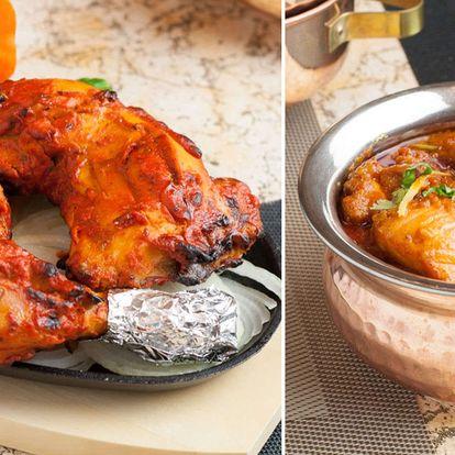 35% sleva na veškerá jídla a indické nápoje v restauraci Indian Aroma