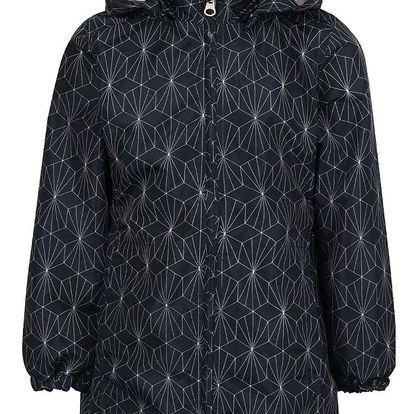 Tmavě modrá holčičí vzorovaná bunda name it Mello