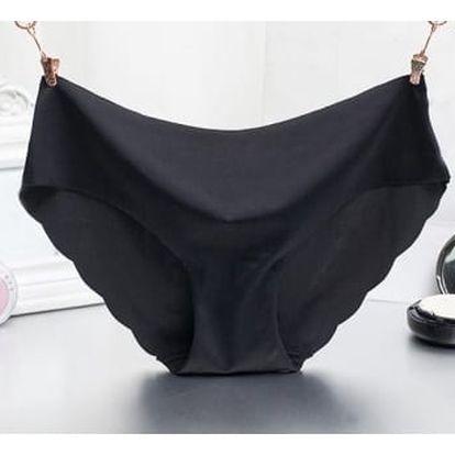 Dámské bezešvé kalhotky - černá - dodání do 2 dnů