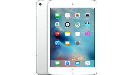 APPLE iPad Mini 4, 32GB, Wi-Fi, 3G, stříbrná - MNWF2FD/A