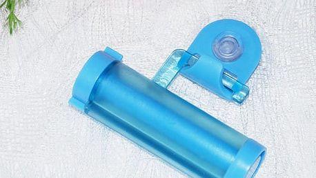 Praktický držák na vytlačování zubní pasty