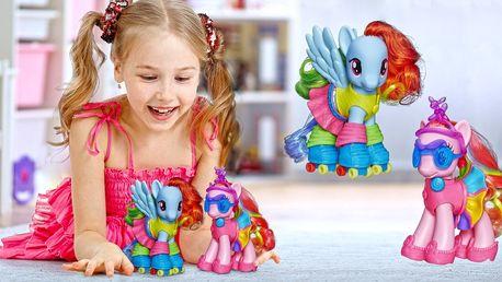 My Little Pony: roztomilý barevný poník s módními doplňky