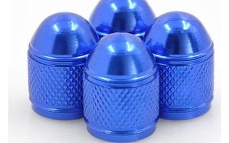 Náhradní barevné hliníkové čepičky na ventilky - 4 ks