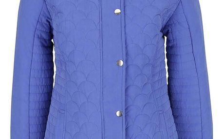 Modrá dámská prošívaná bunda M&Co