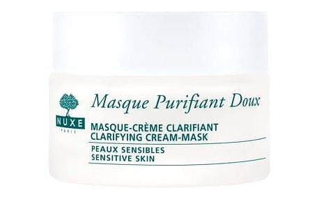 NUXE Rose Petals Cleanser Clarifying Cream-Mask 50 ml pleťová maska pro ženy