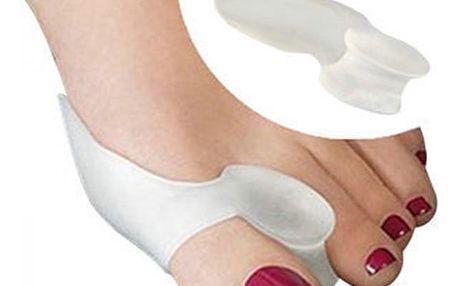 Pár silikonových pomůcek na vbočený palec