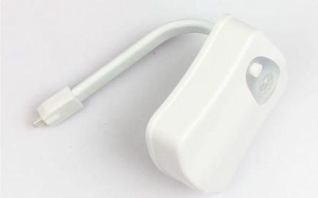Barevné osvětlení wc s pohybovým senzorem - dodání do 2 dnů
