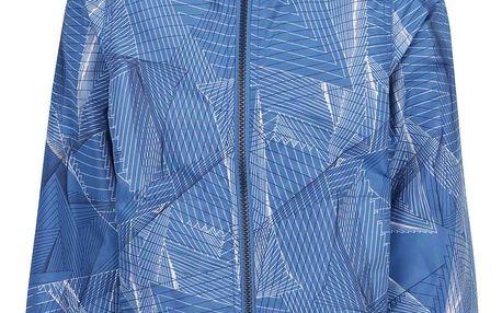 Modrá klučičí vzorovaná bunda name it Mellon