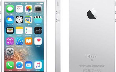 Apple iPhone SE 32GB, stříbrná