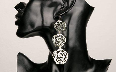 Fashion Icon Náušnice velká růže