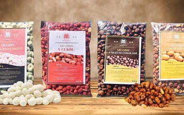 Oslaďte si život: půl kila arašídů na sladko