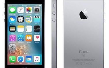 Mobilní telefon Apple iPhone SE 16 GB - Space Grey (MLLN2CS/A) Voucher na skin Skinzone pro Mobil CZSoftware F-Secure SAFE 6 měsíců pro 3 zařízení (zdarma) + Doprava zdarma