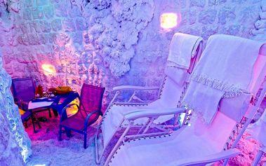 Relaxace v solné jeskyni pro 2 osoby