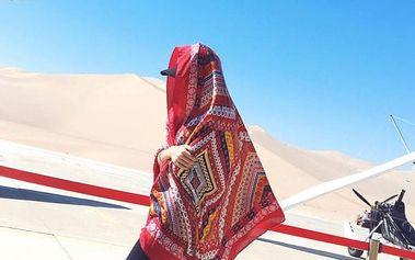 Maxi etno šátek ve více barvách