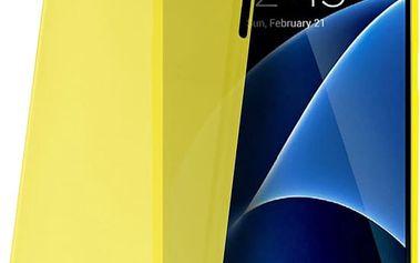 CELLY Frost pouzdro pro Samsung Galaxy S7, 0,29 mm, žlutá - FROSTGS7YL