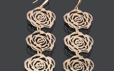 Fashion Icon Náušnice růže střední