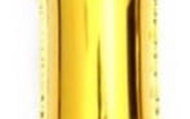 Nafukovací balónky v podobě čísel - zlatá/stříbrná barva