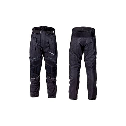 W-TEC NF-2607 černé vel. XL pánské textilní moto kalhoty