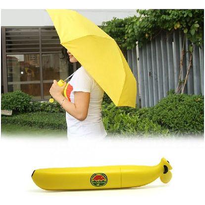 Banánový deštník - buďte originální i za deště!