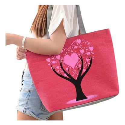 Velká letní taška se zamilovaným stromem