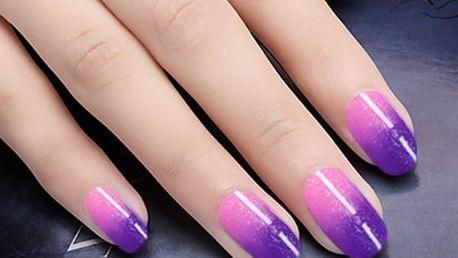 GEL lak na nehty - v různé teplotě měnící barvu (10ml)
