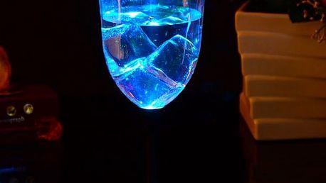 Indukční LED pohár na víno